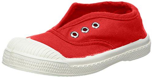 Bensimon Unisex-Kinder Tennis Elly Sneaker Rot (Rouge)