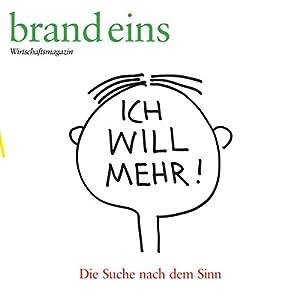 brand eins audio: Sinn Audiomagazin