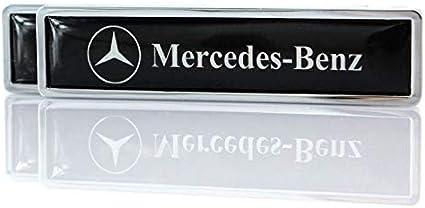 Ycsm 2 Stück Metall Dekorative Logo Badge Aufkleber Seite Kotflügel Badge Aufkleber Für Mercedes Benz Von Dekorativem Zubehör Küche Haushalt