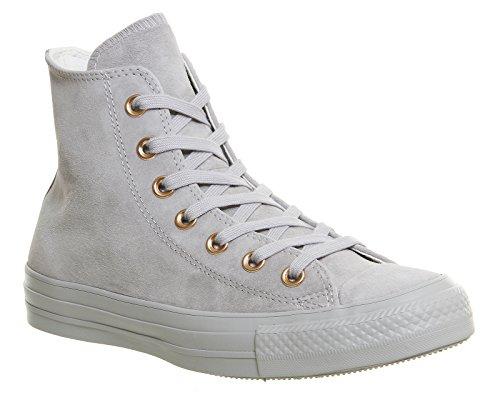 Converse Chuck Taylor All Star Well Worn Ox 358890-61-10 - Zapatillas de tela para unisex-adultos, color azul, talla 40 Ash Grey Rose Gold Exclusive