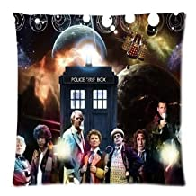 """HOT Selling Doctor Who Pillowcase 18""""x18"""" Cushion Pillow Cover - Two Sides"""