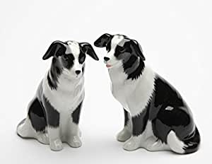 Cosmos Gifts 20870 Border Collie Salt and Pepper