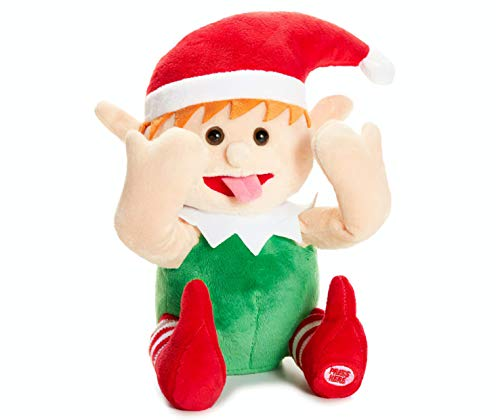 Winter Wonder Lane Funny Face Animated Elf Doll