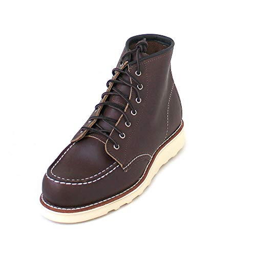 Red Wing Womens 6 Inch Moc Leather Mahogany Boots 9