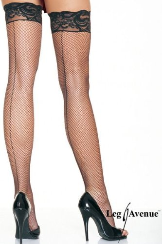 White Lycra Fishnet - 9