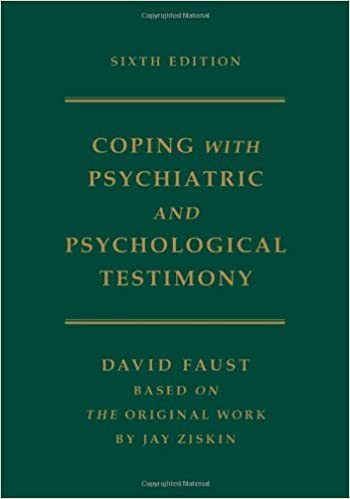 Coping with psychiatric and psychological testimony 9780195174113 coping with psychiatric and psychological testimony 9780195174113 medicine health science books amazon fandeluxe Images