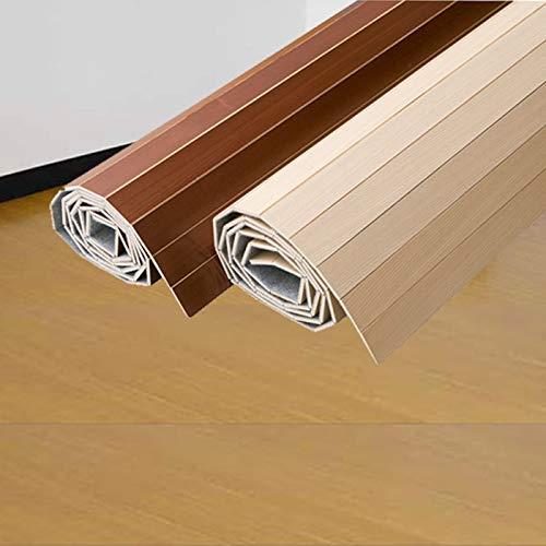 ウッドカーペット MDFシリーズ ブラウン 団地間6畳 243x345cm B008B5CO6E ブラウン