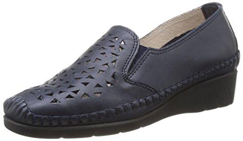 Luxat Bleu Fonc WoMen Emchaus Loafers Bleu PwqnPaxrS