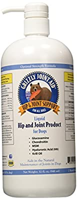 Grizzly Pet Products Liquid Joint Aid for Dogs, 32 oz. by Lambriar Vet