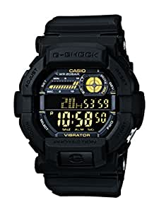 Casio G-Shock Digital Black And Gold Gd350-1 Watch