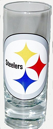 NFL Officially Licensed 2 Oz Cordial Shot Glass (Pittsburgh Steelers)