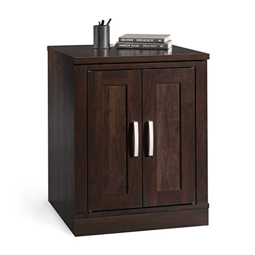 "Sauder 408365 Office Port Library Base, L: 23.39"" x W: 23.47"" x H: 29.29"", Dark Alder finish"