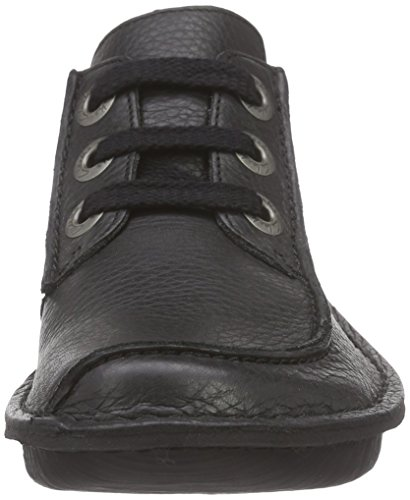 Clarks black Dream Leather Funny Noir Derby Femme wqr6nTzBq