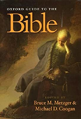 the oxford guide to people and places of the bible metzger bruce m coogan michael d