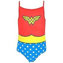 DC Comics Wonder Woman Girls' Wonder Woman Swimsuit