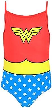 DC Comics Wonder Woman Girls' Wonder Woman Swim