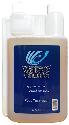 Waters Choice Natural Easy to Use Pool Water Treatment Enzyme Concentrate 32 ounces