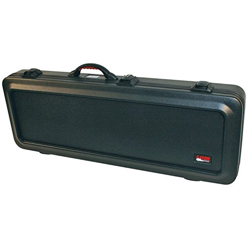 Gator Cases ATA-Style Guitar Case with TSA Latches for Bass Guitars (Bass Flight Case)