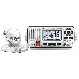 ICOM M424G VHF RADIO W/INT GPS -WHITE >> Current Edition