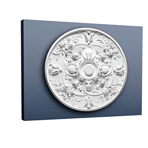 (Ceiling Rose Rosette Orac Decor R24 LUXXUS Medallion Centre classic decor quality opulent size 79cm = 30 inch diameter)
