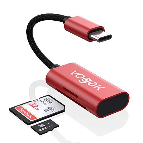 SD Card Reader USB C, VOGEK 2-in...