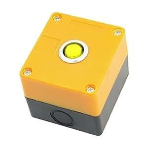 24 V Indicador Pilot de la señal lámpara de 15 mm de diámetro y amarillo luz