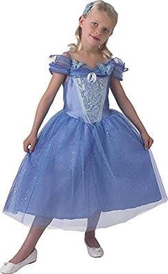 Princesas Disney - Disfraz de Cenicienta con zapatos para niña ...
