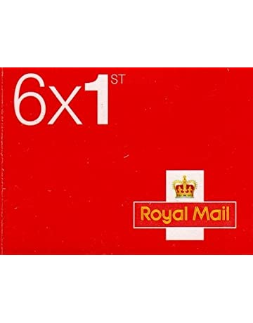 Book Of 6 X 1st Class Royal Mail Postage Stamps