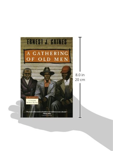 a gathering of old men analisys Summary note: summary text provided by external source set on a louisiana sugarcane plantation in the 1970s, a gathering of old men is a powerful depiction of racial tensions arising over.