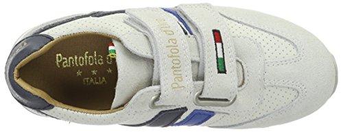 Pantofola d'Oro Canino Ragazzi Velcro Low - Zapatillas de casa Niños Beige (Marshmallow)