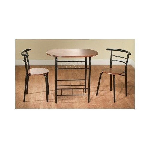 Bistro Table Set Indoor for 2 Kitchen Small