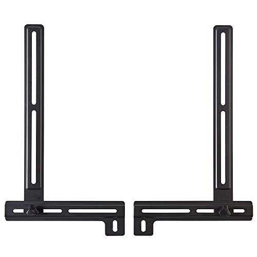 ECHOGEAR Sound Bar Mounting Brackets with Tool-Free Height Adjust for Maximum Compatibility Between Your TV & Soundbar - Features Simple Install with Included Hardware - EGSB1