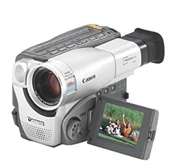 Canon ES8600 Hi8 Camcorder with 2 5