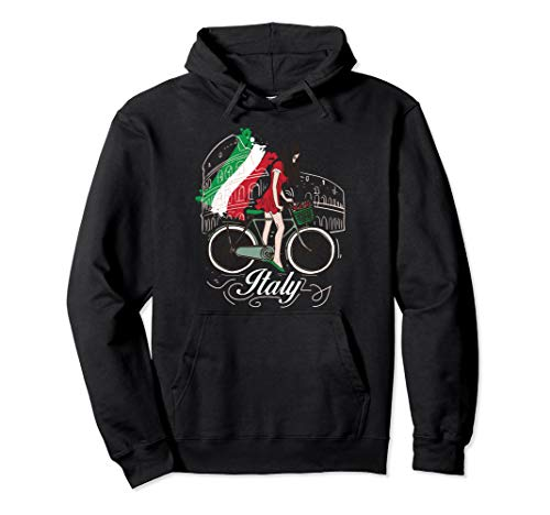When in Rome Gift Design Beautiful Woman Italy Design  Pullover -