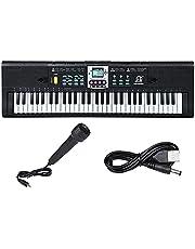 Hellery 61 Key Digital Music Elektronik Klavye Klavye E Piyano Ev Sahneleri için