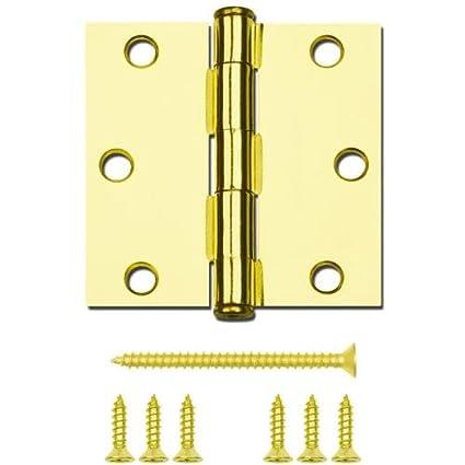 Gatehouse 3 Polished Brass Entry Door Hinge 0308914 Amazon