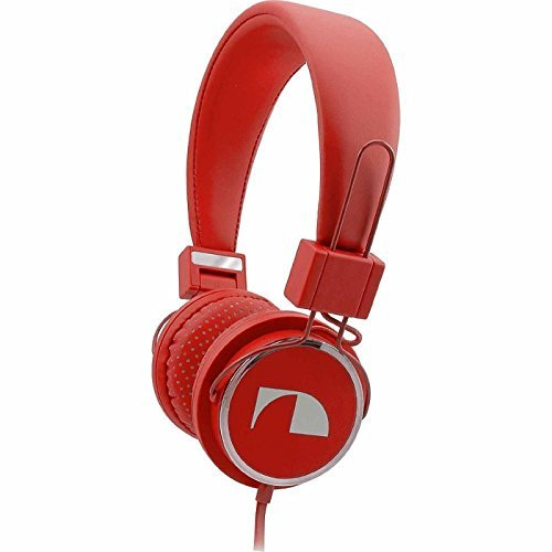 Fashion Headphones Poppy Red-Nakamichi