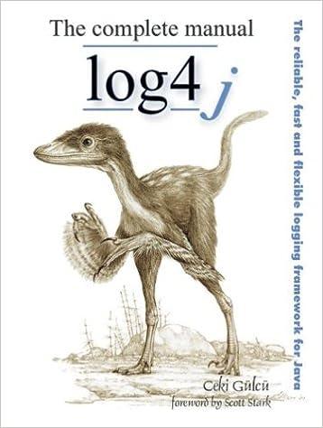 Complete pdf the log4j manual