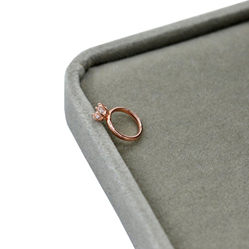 Shoresu Baby Photography Props, Born Photography Props Faux Diamond Ring Baby Shooting Photo Prop Jewelry - Rosa Gold
