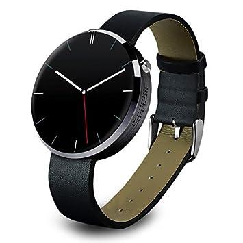 PowerLead DM360 impermeable Bluetooth inteligente reloj monitor de ritmo cardíaco reloj inteligente Gestos Voz Control Wirst