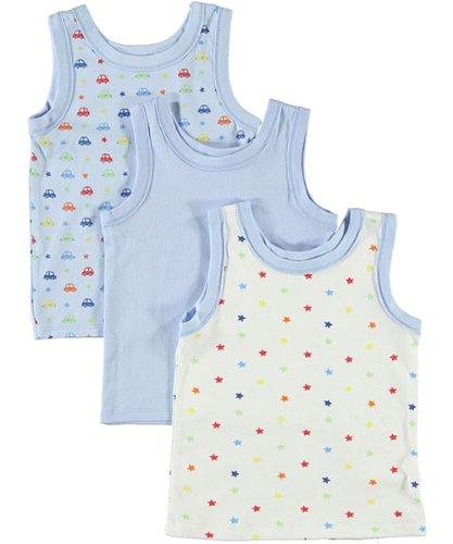 Big Oshi Baby 3 Pack Sleeveless Undershirt Tank PLK-804