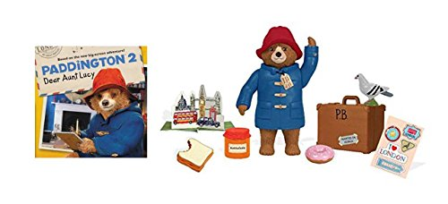 Paddington Bear Teddy Bear Paddington Movie Toys & Suitcase 8 Pc Set and Paddington 2 Book - Paddington Bear Teddy