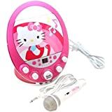 Hello Kitty Flashing Lights Karaoke Machine, 66209