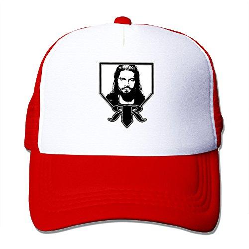 AGOGO Custome Roman Reigns Snapback Hats Red
