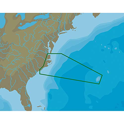 C-Map Nt+ Na-C336 Norfolk To Bermuda To Wilmington - C-Card ()