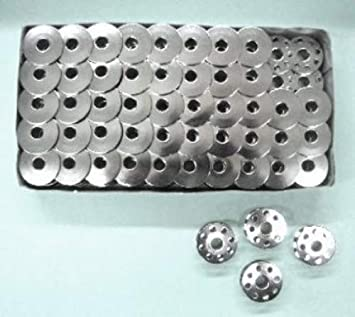 Cutex marcas 100 bobinas de Metal para Juki ddl-8700 único aguja punto cadena máquinas de coser: Amazon.es: Juguetes y juegos