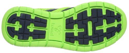deportivas verde Zapatillas de CROSS para Hummel Green HUMMEL sintético Gecko Grün 6595 LITE unisex interior material fqAwpPR