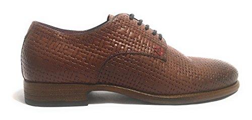 de Jackson pour lacets ville Guess Chaussures cuir marron homme à ETgCgqw