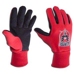 フィードオン恐ろしいです装備するDC United MISLインドアサッカー大人用ユーティリティ作業グリップ手袋