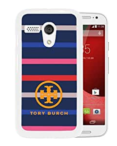 Hot Sale Motorola Moto G Case ,tory burch logo 02 White Motorola Moto G Cover Case Unique Popular Designed Phone Case